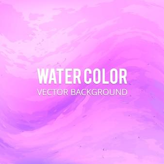 Roze Waterverfachtergrond