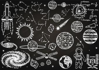 Ruimte elementen collectie