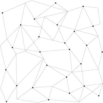 Scandinavisch geometrisch modern naadloos patroon