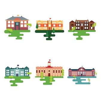Schoolgebouwen collectie