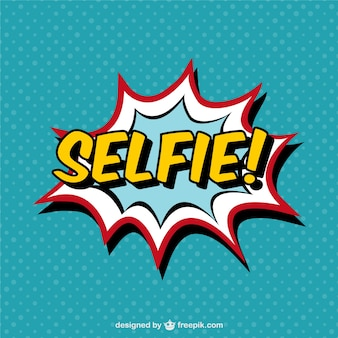Selfie comic book effect