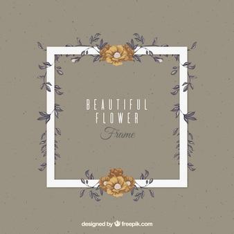 Sier bloemen achtergrond