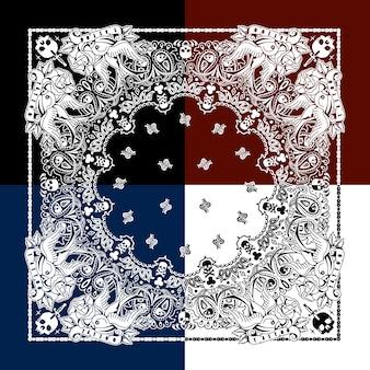 Sier patroon achtergrond
