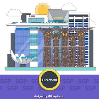 Singapore gebouwen