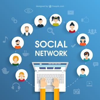 Sociaal netwerk begrip