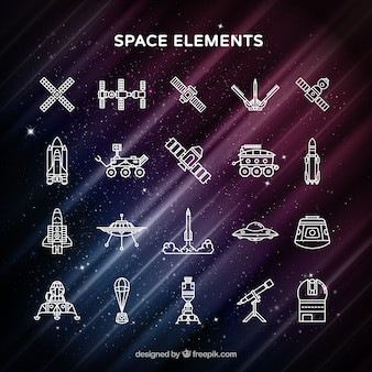Space elementen
