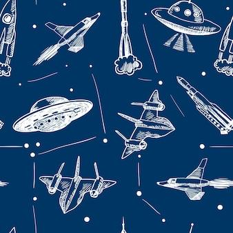 Space patroon ontwerp