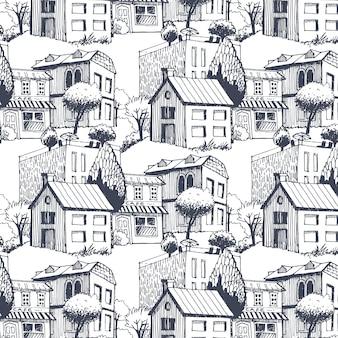 Stad patroon