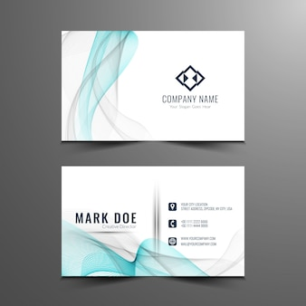 Stijlvol elegant visitekaartje ontwerp