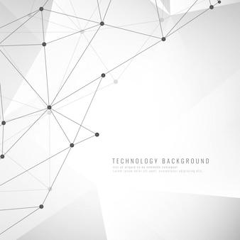Stijlvolle technologische achtergrond