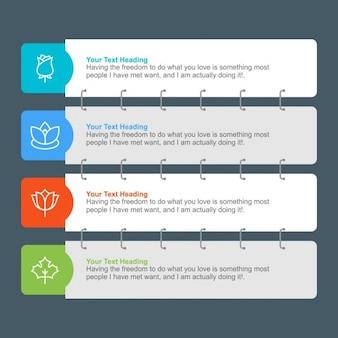 Stripe Infographics illustratie