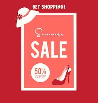 Summer sales achtergrond