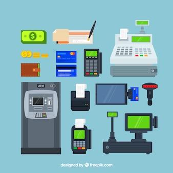Technologische set van betaalmethoden