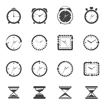 Tijd icoon collectie