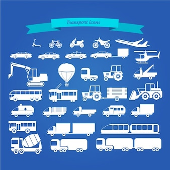 Transport Icon Collection