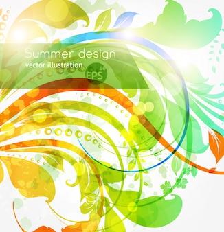 Twirl installatie vintage zon natuur