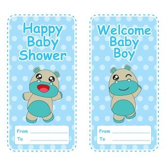 Uitnodiging van de babybaby shower