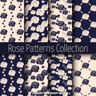 Uitstekende patronen rozen