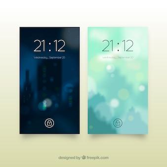 Unfocused mobiele wallpapers