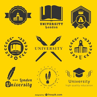 Universiteit logo template