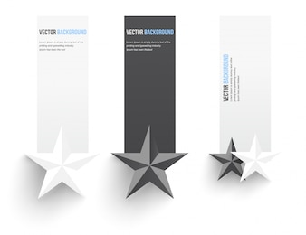 Vector abstracte achtergrond. Infographics banner