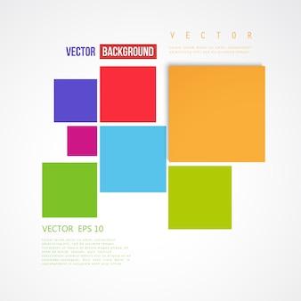 Vector Abstracte geometrische vorm