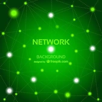 Vector abstracte gratis netwerk achtergrond
