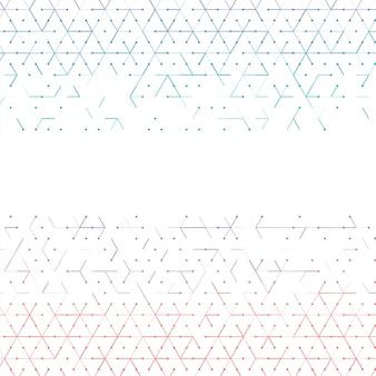 Vector achtergrond lijnen
