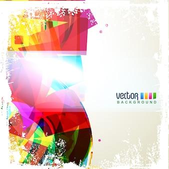 Vector kleurrijke eps10 achtergrond ontwerp