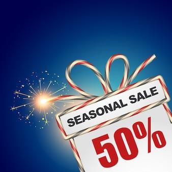 Vector seizoensgebonden verkoop ontwerp illustratie