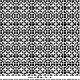 Vector symmetrisch patroon Arabisch-islamitische achtergrond