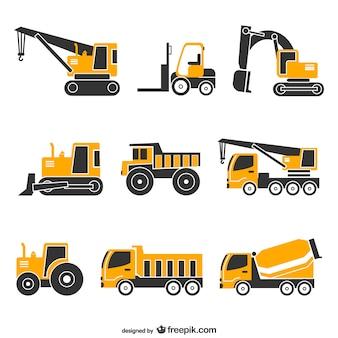 Vector voertuigen gratis set