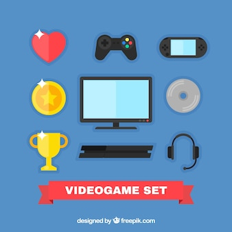 Videogame element collectie