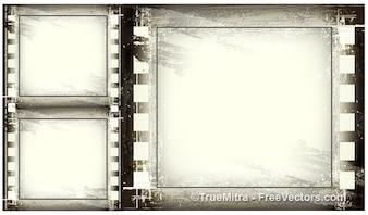 Vintage grunge frames achtergrond