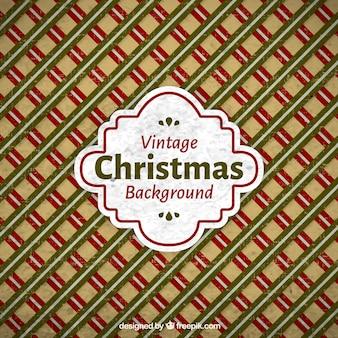 Vintage Kerstmis abstracte achtergrond