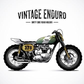 Vintage motorfiets achtergrond