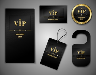 Vip elementen collectie
