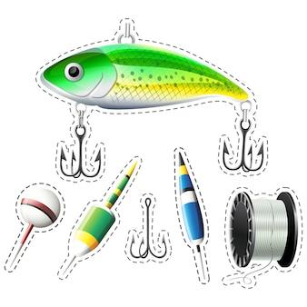 Vissen elementen collectie
