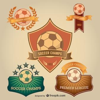 Voetbal badges gratis te downloaden