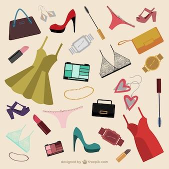 Vrouwelijke accessoires