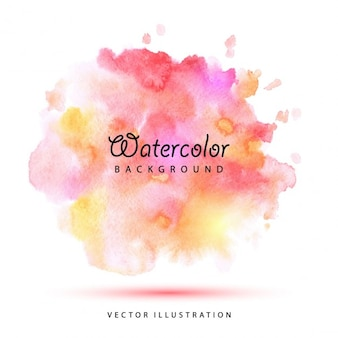 Watercolor vlekken