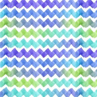 Waterverf het geometrisch patroon