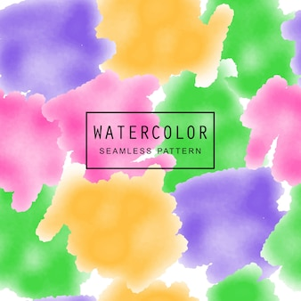 Waterverf naadloos patroon