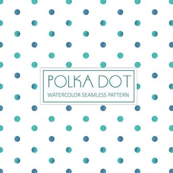 Waterverf Polka Dot Achtergrond