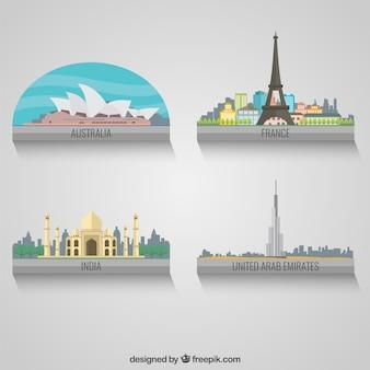 Wereld landen