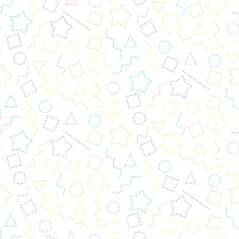 Willekeurig gestippeld patroon