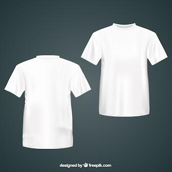 Wit t-shirts