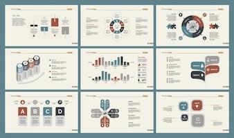 Zes Research Charts Slide Templates Set