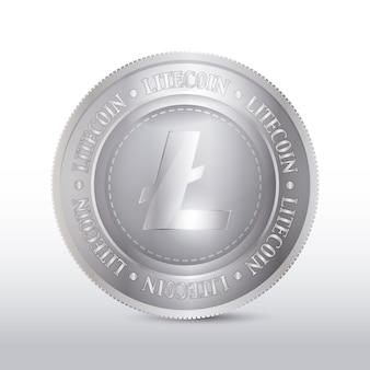 Zilveren muntontwerp