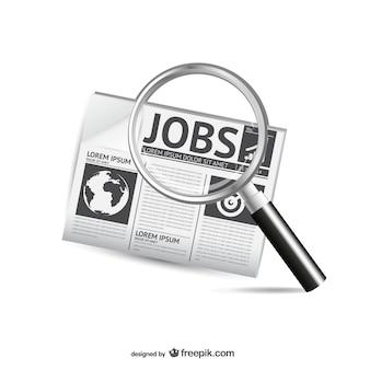Zoektocht naar een baan